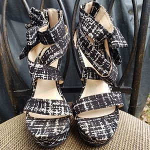 Bamboo Wedge Women's Shoes Size 10
